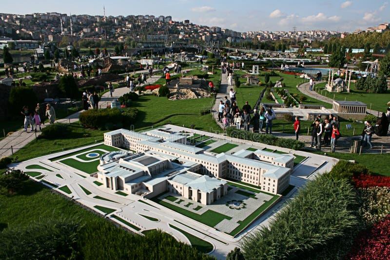 Miniature Park(Miniaturk). In Istanbul,Turkey royalty free stock photos