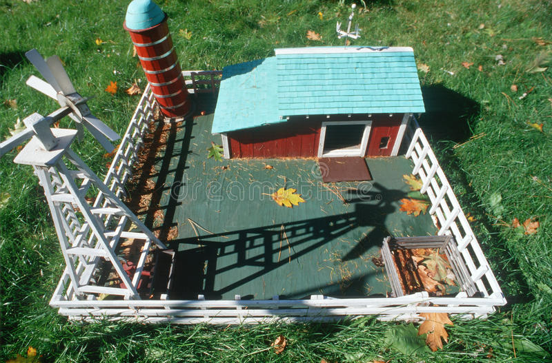 Download A miniature replica stock image. Image of farm, miniature - 23177853