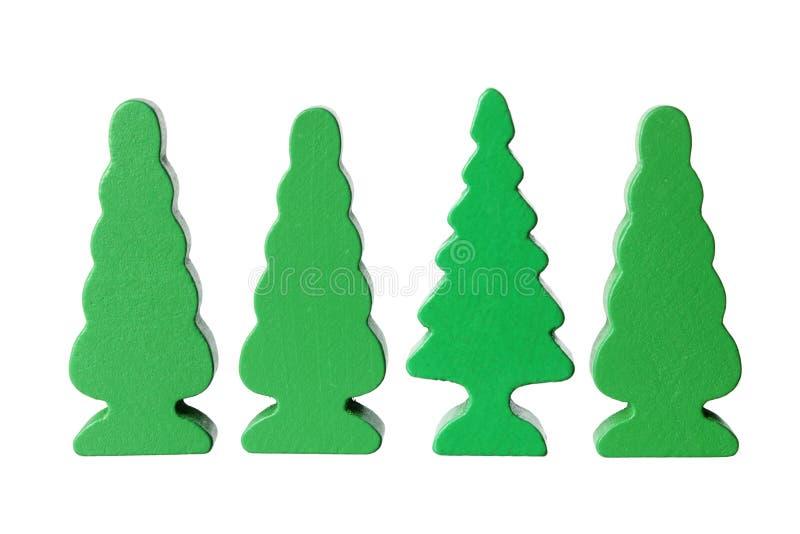 Miniature Trees Stock Image