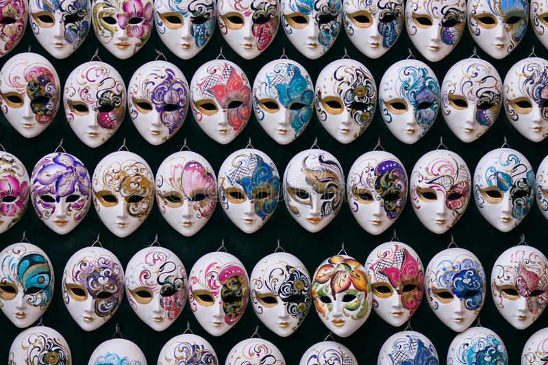 Download Miniature Venetian Carnival Masks Royalty Free Stock Photography - Image: 23915027