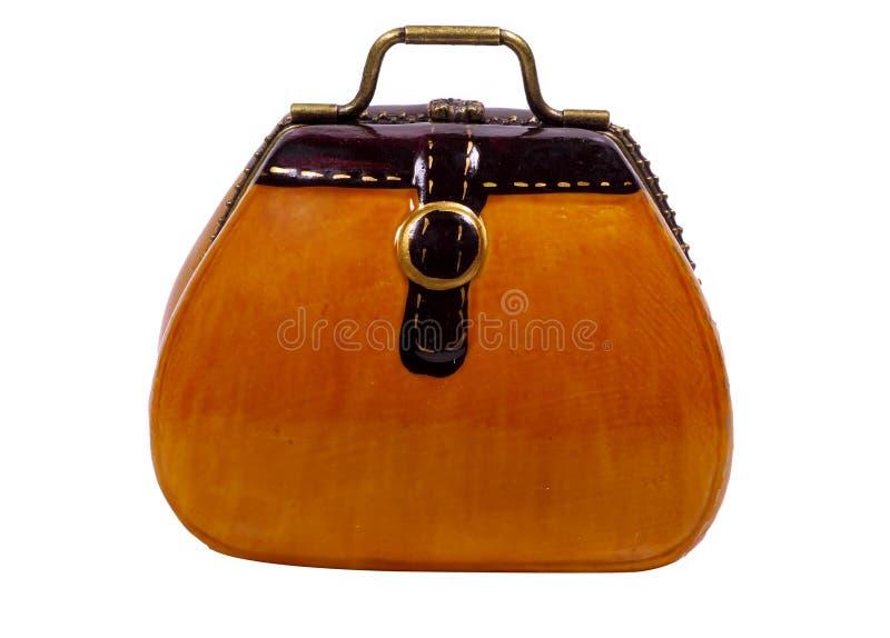 Miniature Vintage Case. Miniature Vintage Style Case / Bag royalty free stock images