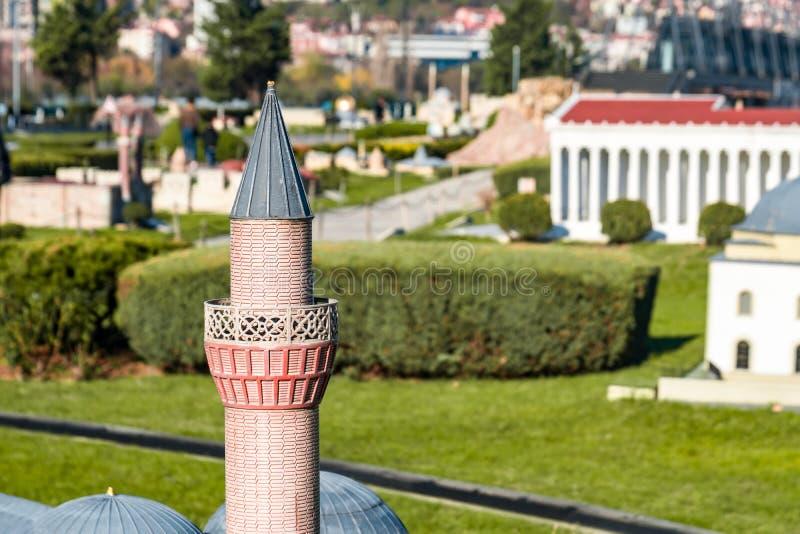 Miniaturk em Istambul fotografia de stock