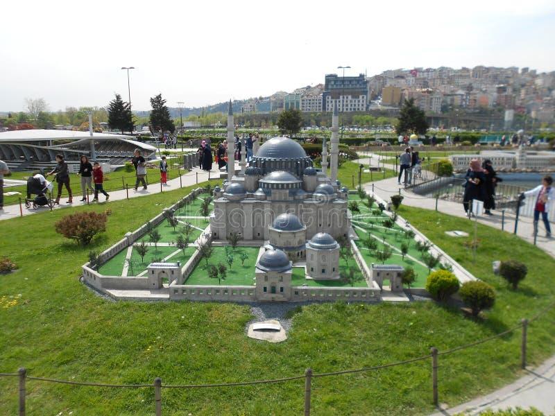 Miniaturk o parque de la miniatura de Turquía fotos de archivo libres de regalías