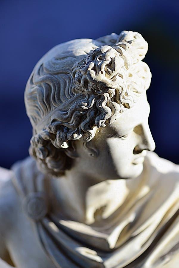 Miniaturowa rzeźba Apollon zdjęcia royalty free