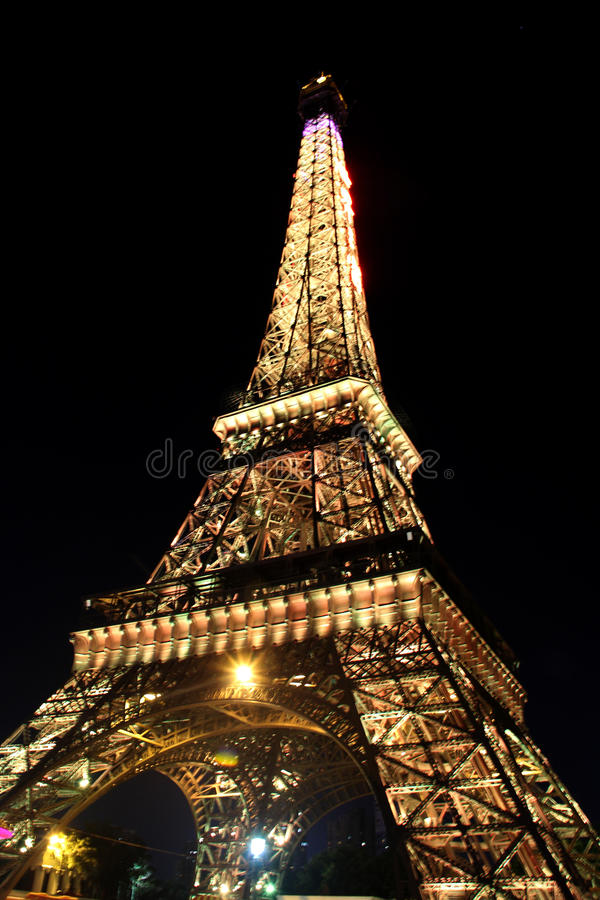 Miniaturowa wieża eifla fotografia stock
