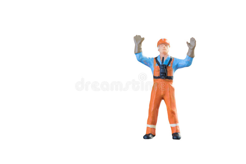 Miniaturowi ludzie inżyniera i pracownika zajęcie zdjęcie royalty free