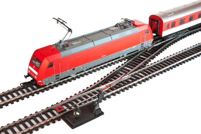 miniaturowy pociąg obraz royalty free