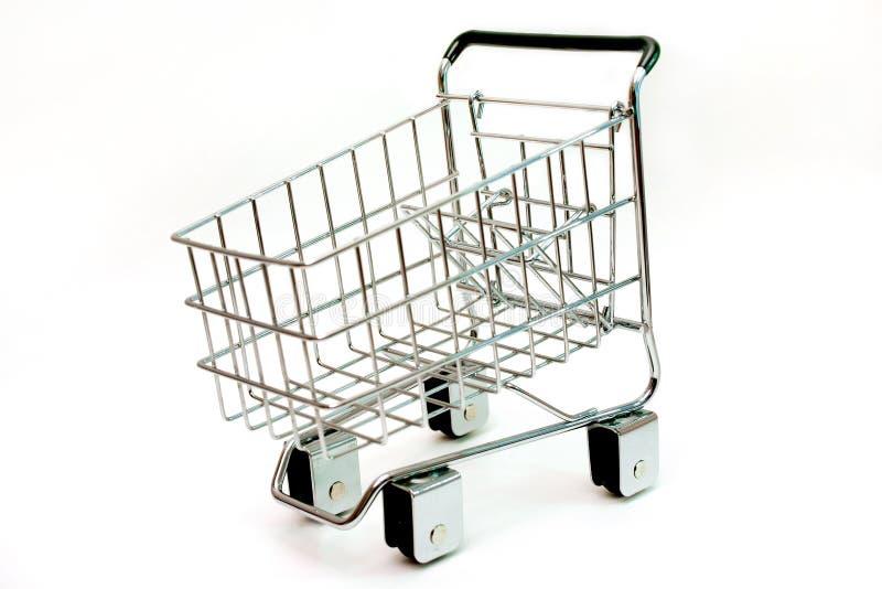 miniaturowy wózka na zakupy fotografia royalty free