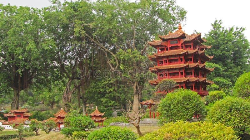 Miniaturpark in China lizenzfreies stockbild