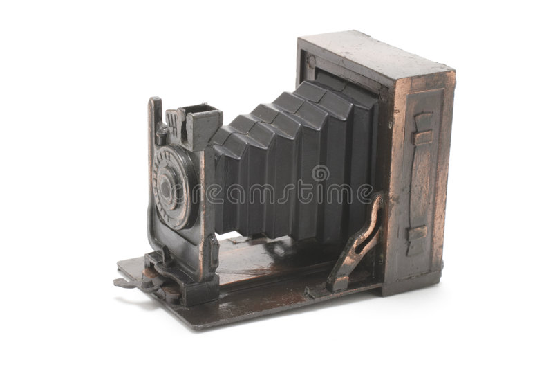 Miniatuur Antieke Camera stock foto's