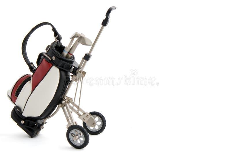 Miniatuur golfreeks stock fotografie