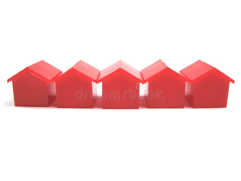 Miniatuur huizen royalty-vrije stock foto