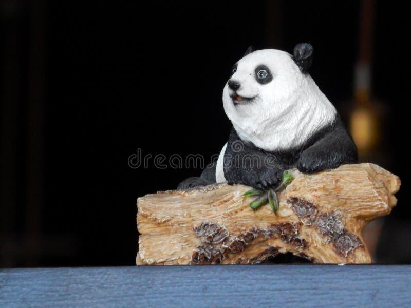 Miniatuur van Panda van China royalty-vrije stock foto's