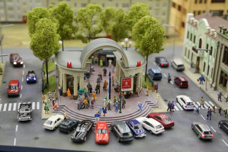 Miniatuur van Rusland royalty-vrije stock afbeelding