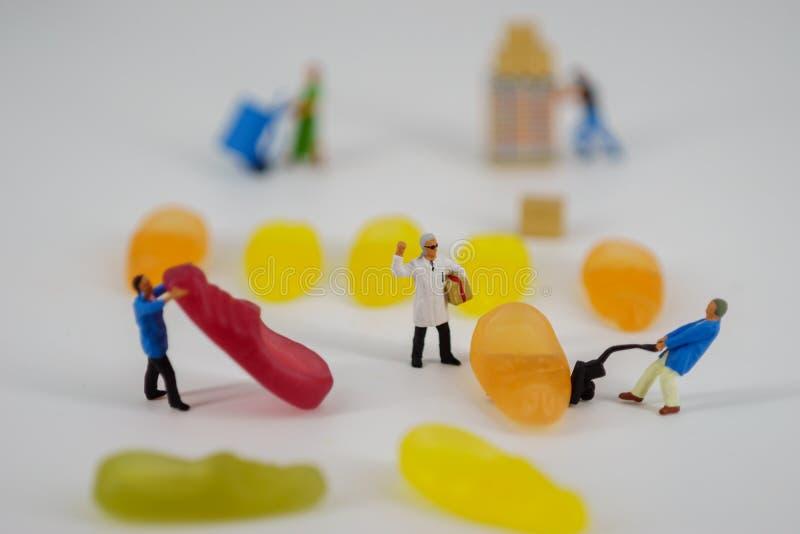 Miniatuur van storemans royalty-vrije stock foto's