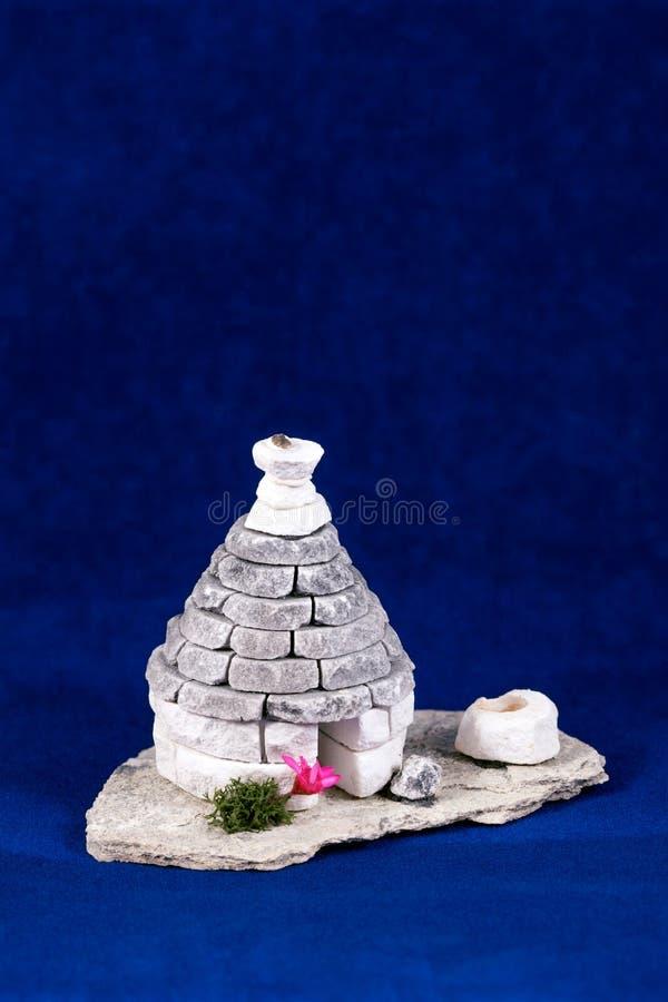 Miniatuurhuis royalty-vrije stock foto