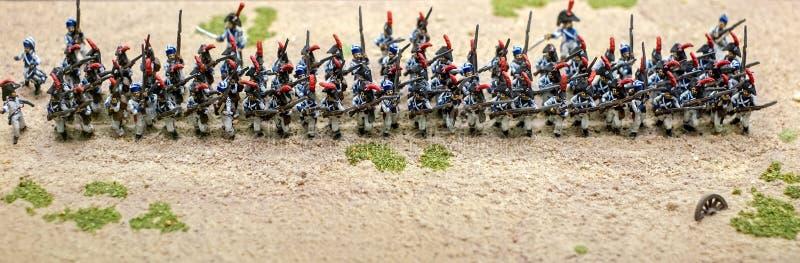 Miniatuurtoy soldiers royalty-vrije stock foto