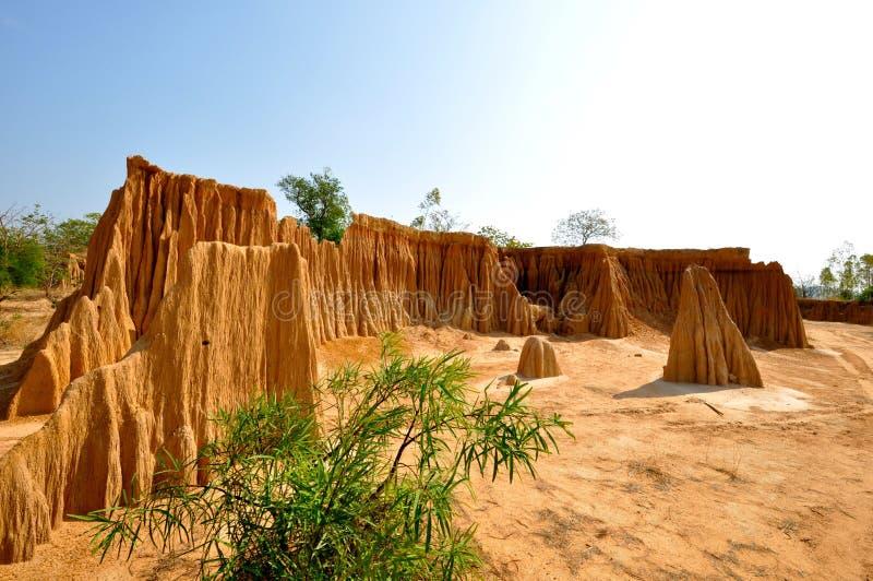 MiniatyrGrand Canyon av Thailand arkivfoton