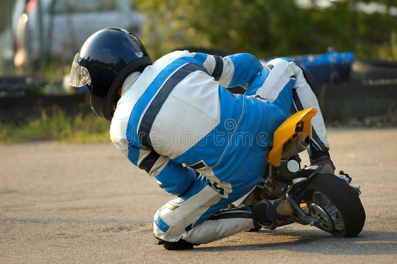 Minibike royalty free stock photo