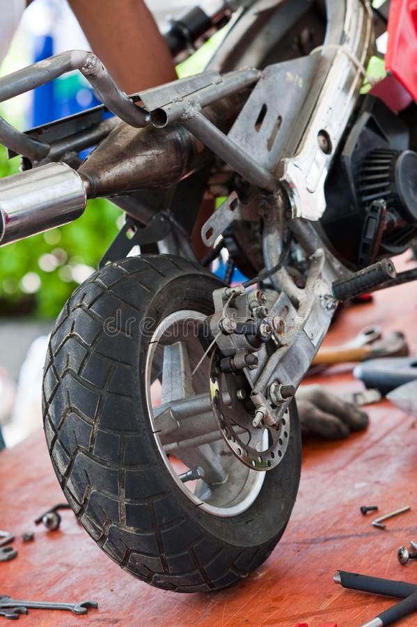 Download Minibike II stock photo. Image of tools, competition - 13882178