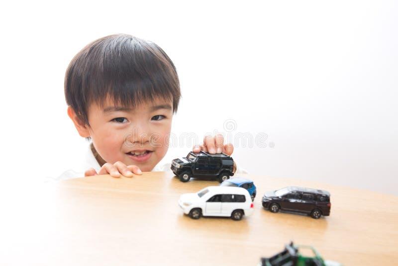 minibilbarn fotografering för bildbyråer