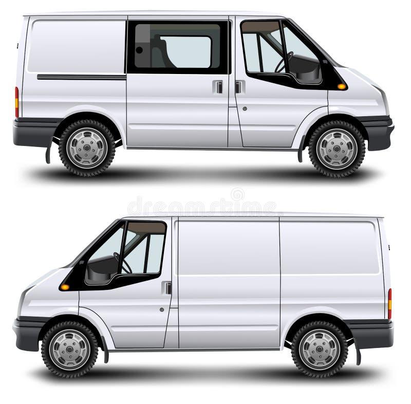 minibus stock illustrationer