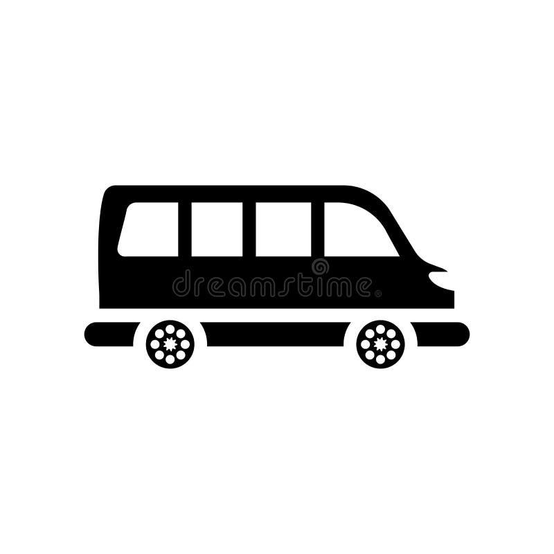 Minibus icon. Trendy Minibus logo concept on white background fr vector illustration