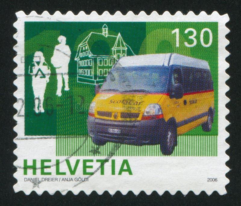 Minibus fotografía de archivo