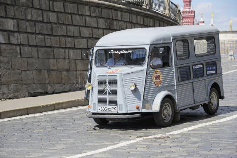 Minibuss för HY Citroen royaltyfri foto