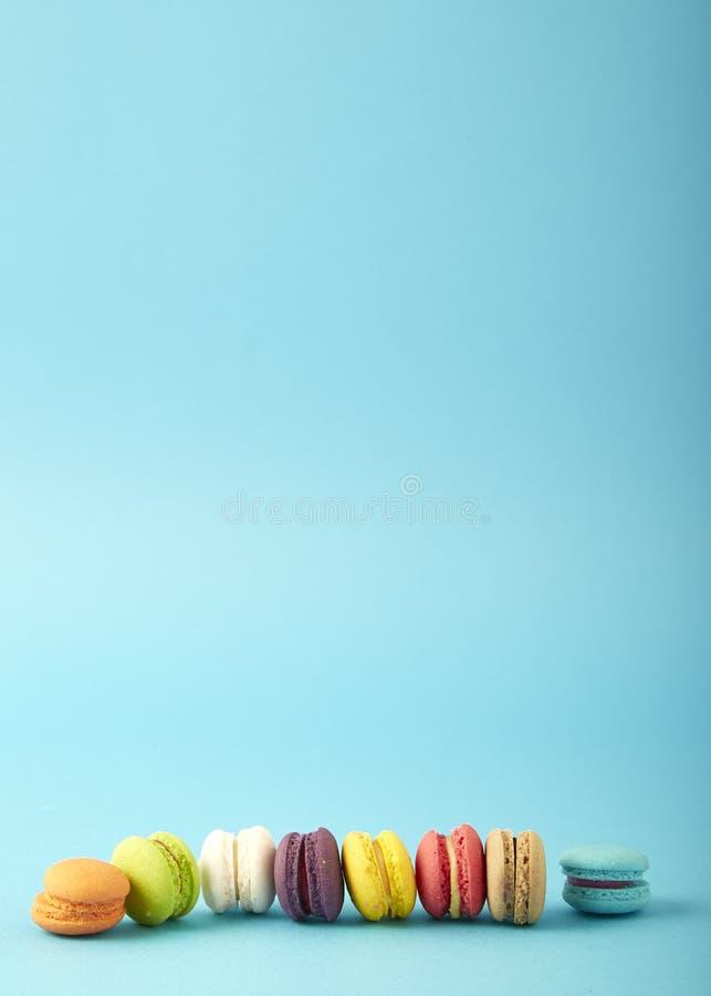 minicake macaron of makaron royalty-vrije stock foto