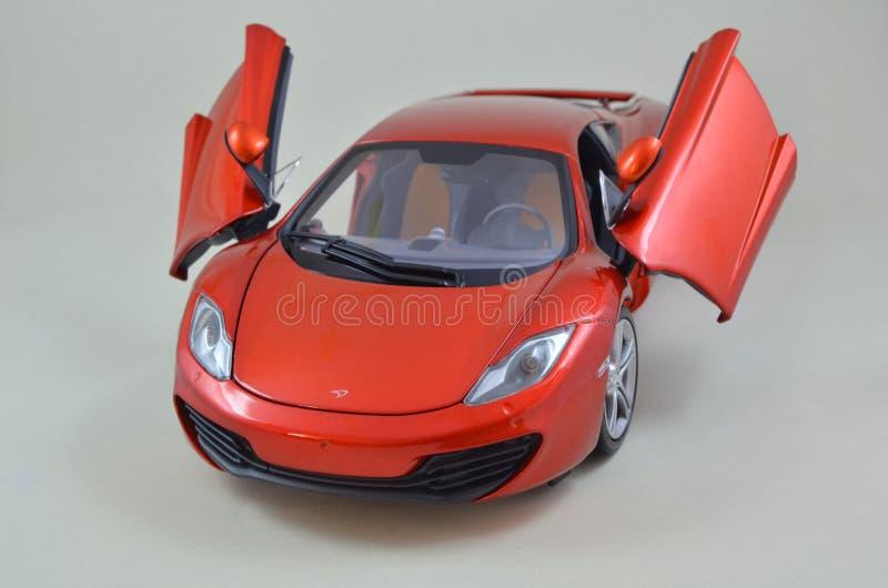 1:18 Minichamps di Mclaren Mp4-12C modelcar immagine stock libera da diritti