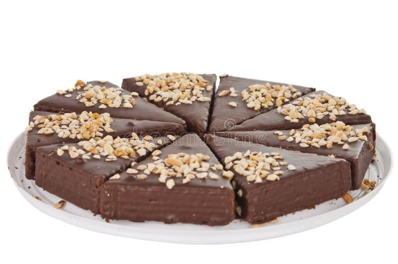 Minichokladcake royaltyfria foton