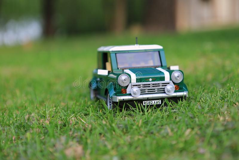 Minicooper imagen de archivo libre de regalías