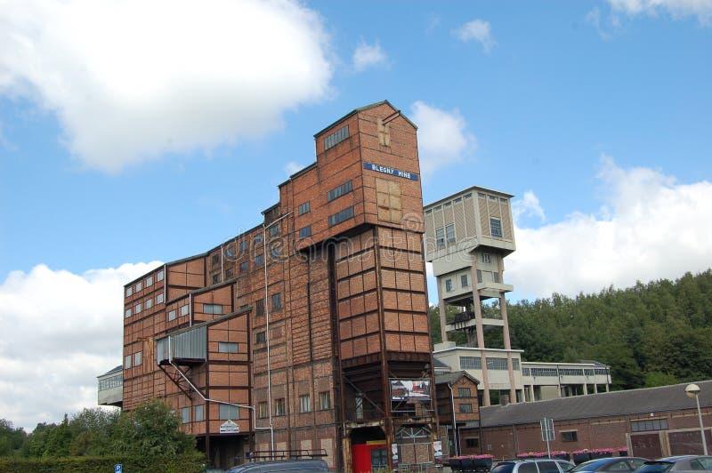 Miniera Belgio di Blegny fotografia stock