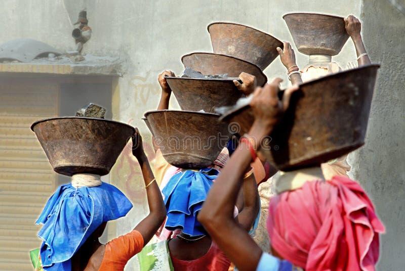 Miniera del frantoio in India fotografie stock libere da diritti