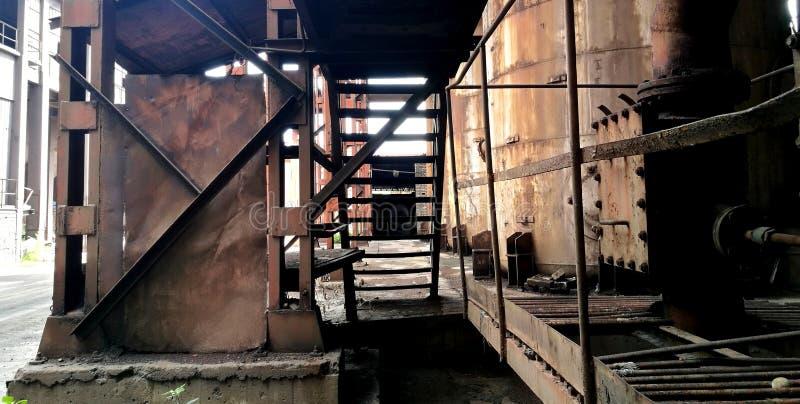 Miniera di carbone della città di Panzhihua della provincia del Sichuan della Cina fotografia stock libera da diritti