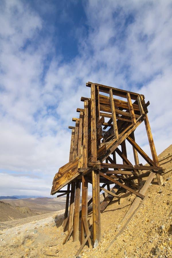 Miniera di oro del bordo del Nevada fotografie stock