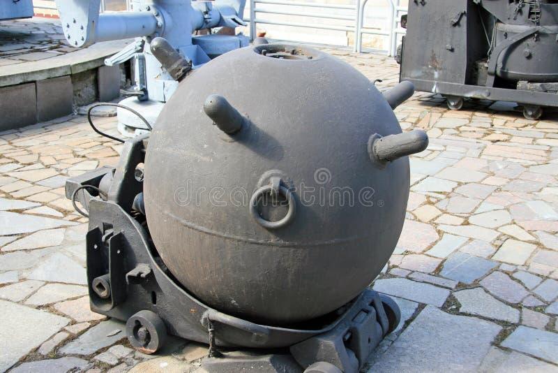 Miniera navale fotografie stock