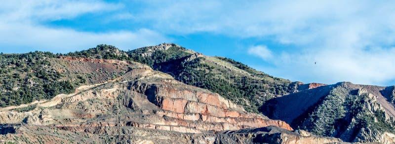 Miniera su Hillside fotografie stock libere da diritti
