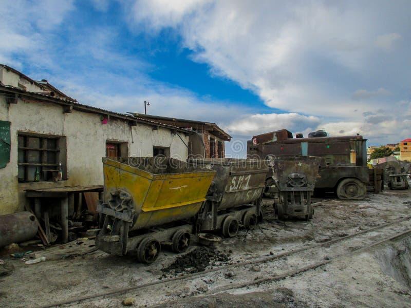 Miniere abbandonate in Potosi, Bolivia immagine stock