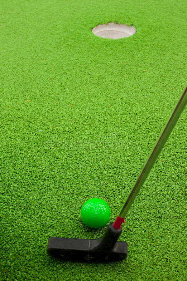 Download Minigolf stock photo. Image of hole, sport, club, putter - 17874976