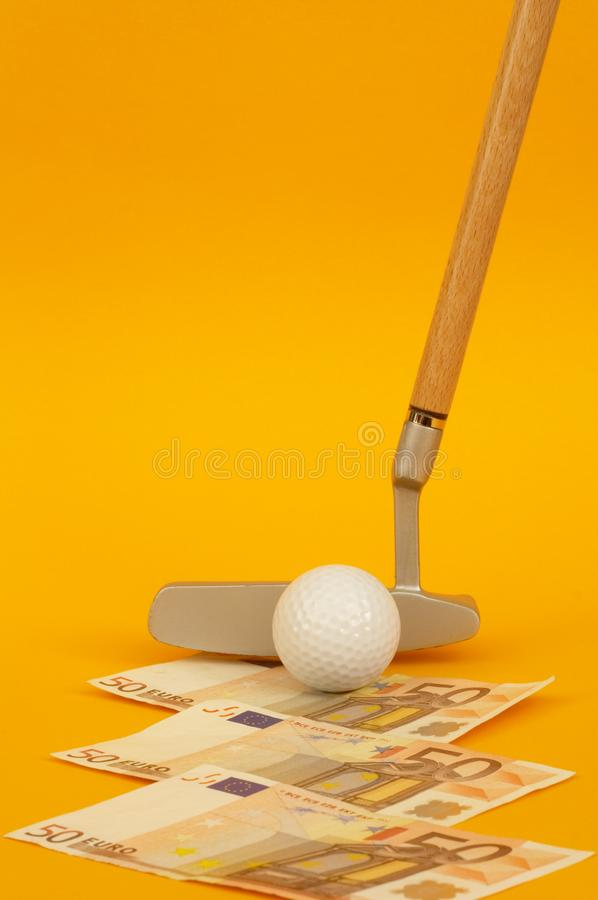 Minigolf stock photography