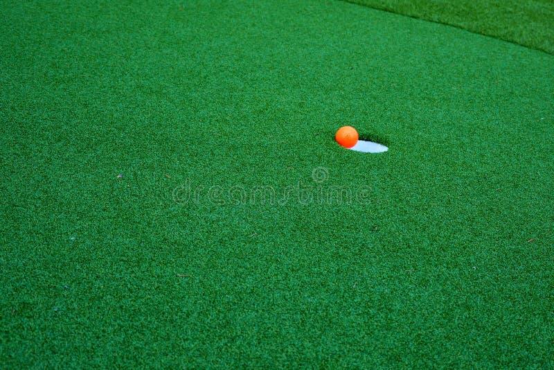 Minigolf fotografia stock libera da diritti
