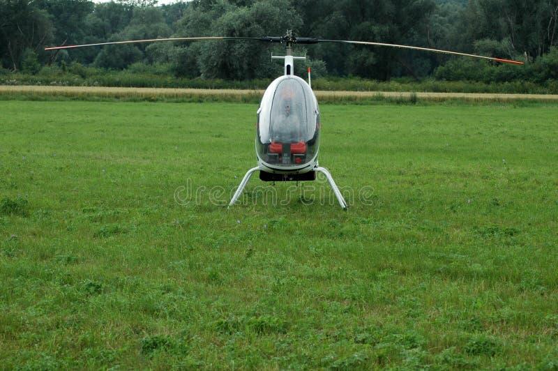 Minihelikopter Arkivfoto