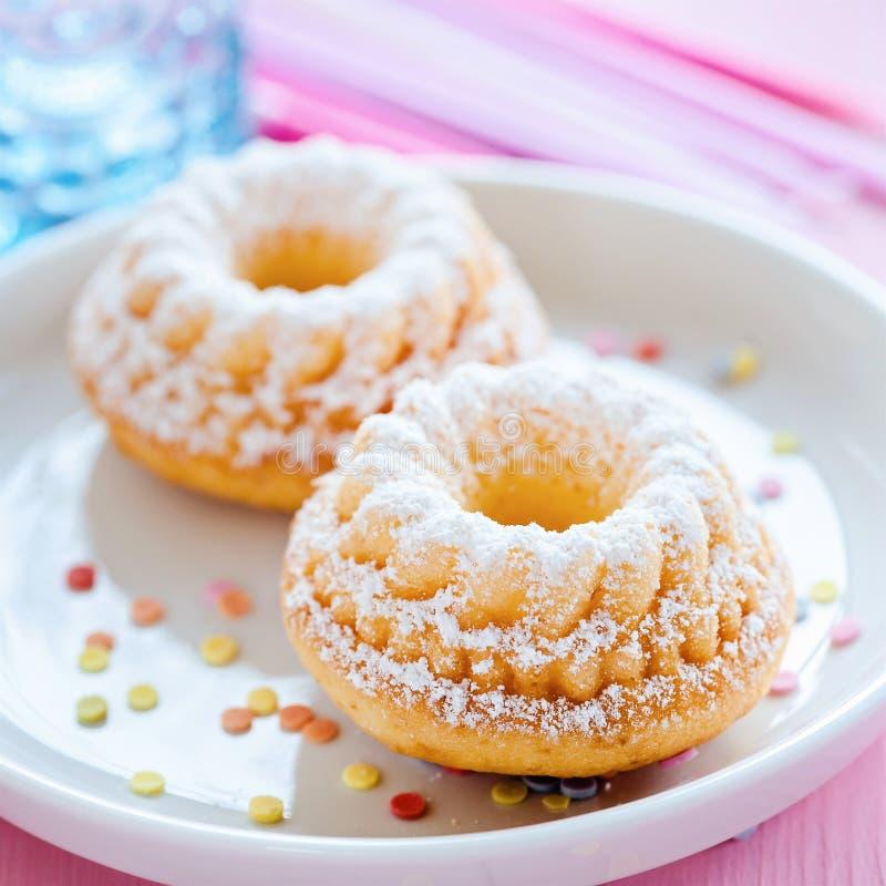 Minikuchen lizenzfreies stockbild