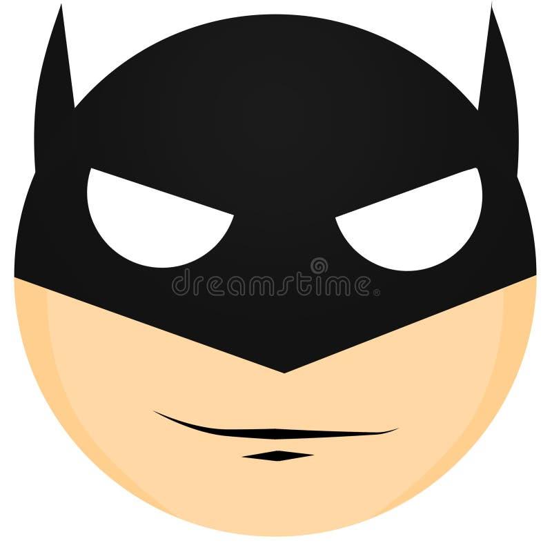 Minimaal Batman-Art. royalty-vrije stock afbeelding