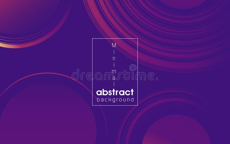 Minimal abstract geometric background stock image