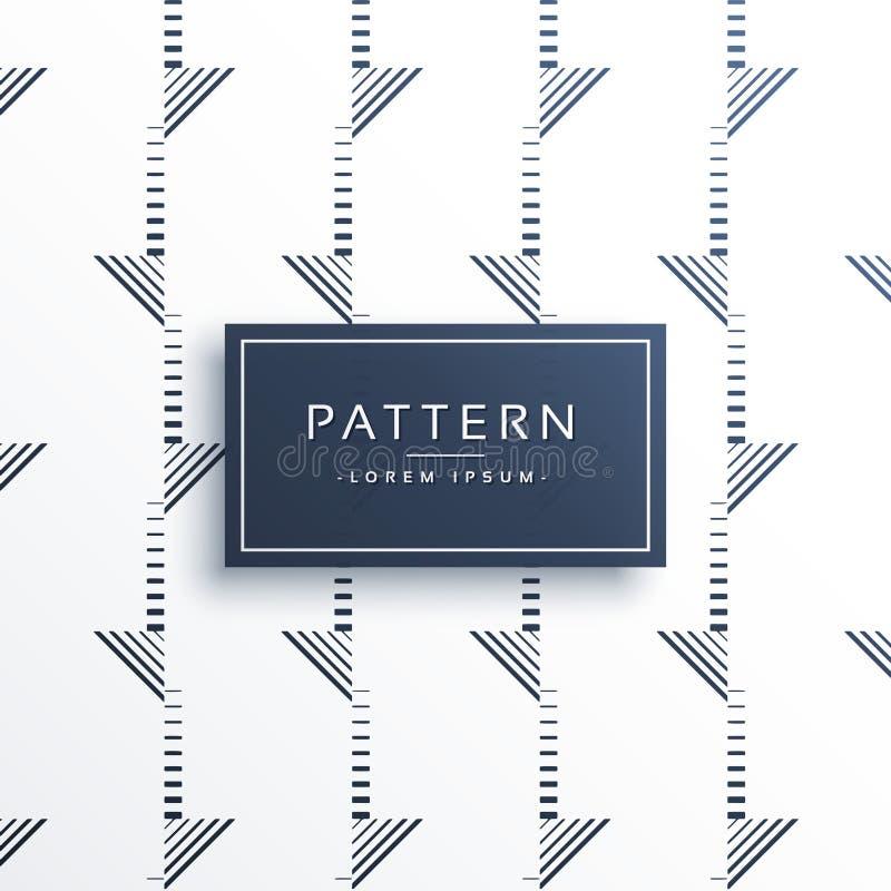 Minimal abstract pattern background design royalty free illustration