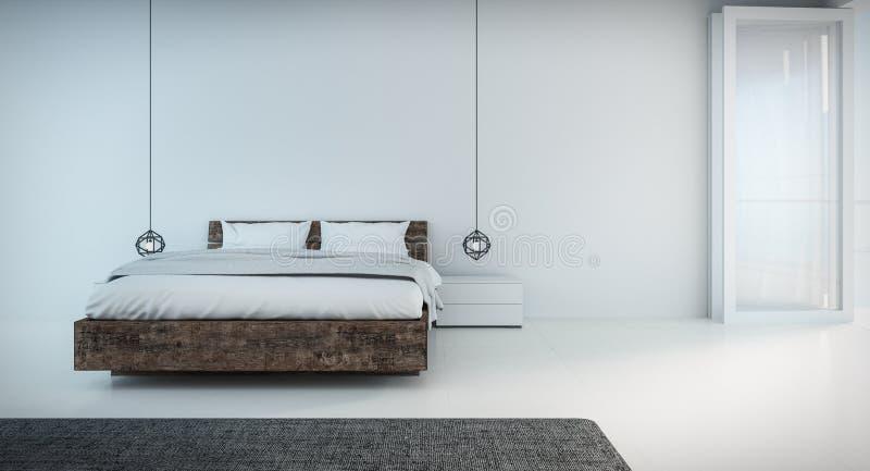 minimal bedroom. Download Minimal Bedroom on seaview stock illustration  Illustration of bedroom 62054725