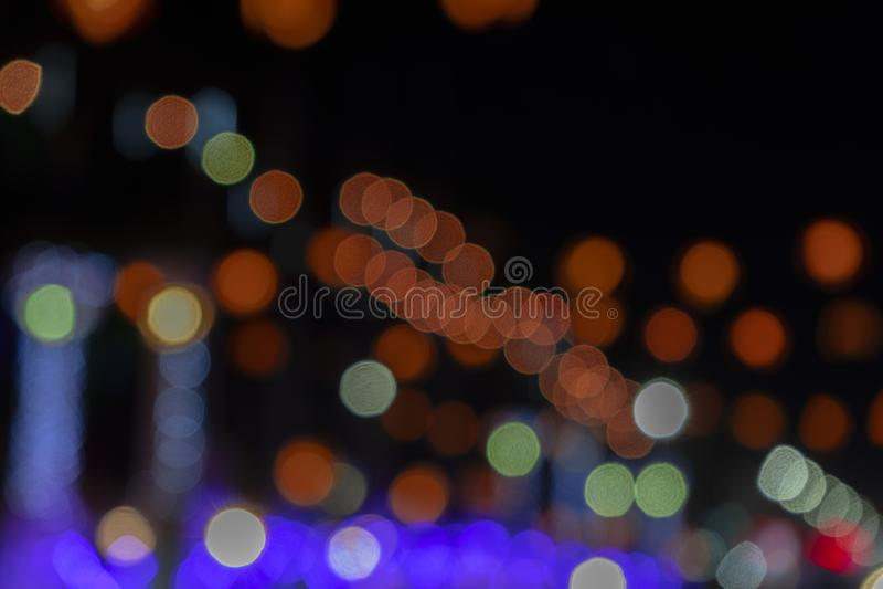 Minimal Christmas lights background stock photography